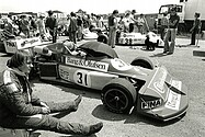 Bernard Dedryver - March 772P - Nogaro 1977