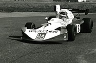 Bernard Dedryver - March 752 - Thruxton 1975