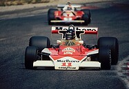 James Hunt - Niki Lauda - McLaren M23 - Ferrari 312T2 - Paul Ricard GP 1976