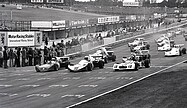 Rupert Keegan - Hervé Regout - Larry Perkins - Start Brands Hatch 1975